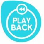 Logo da emissora Radio FM Play Back