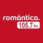 Logo da emissora Radio Romántica 105.7 FM