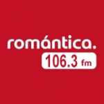 Logo da emissora Radio Romántica 106.3 FM