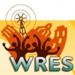 Logo da emissora WRES 100.7 FM