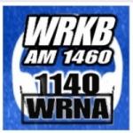 Logo da emissora WRNA 1140 AM