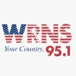 Logo da emissora WRNS 95.1 FM