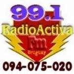Logo da emissora Radio Activa 99.1 FM