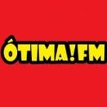 Logo da emissora Rádio Ótima FM