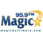 Logo da emissora Radio WWIN Magic 95.9 FM