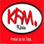 Logo da emissora Radio KFM 91.6 FM