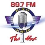 Logo da emissora Radio RP The Hot One 89.7 FM