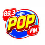 Logo da emissora Rádio Pop 89.3 FM