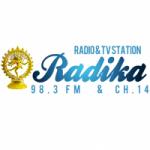 Logo da emissora Radio Radika 98.3 FM
