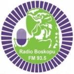 Logo da emissora Radio Boskopu 93.5 FM