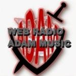 Logo da emissora Rádio Adam Music