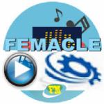 Logo da emissora Rádio Femacle