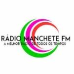 Logo da emissora Rádio Manchete FM