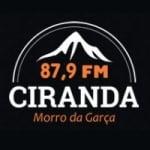 Logo da emissora Rádio Ciranda 87.9 FM