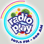 Logo da emissora Radio Play 107.5 FM 800 AM