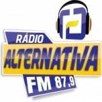 Logo da emissora Rádio Alternativa 87.9 FM