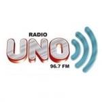Logo da emissora Radio Uno 96.7 FM