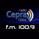 Logo da emissora Radio Cepra 100.9 FM