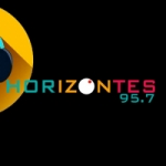 Logo da emissora Radio Horizontes 95.7 FM