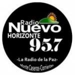 Logo da emissora Radio Nuevo Horizonte 95.7 FM
