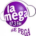 Logo da emissora Radio La Mega 97.3 FM