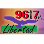 Logo da emissora Radio Libertad 96.7 FM