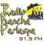 Logo da emissora Radio Kancha Parlaspa 91.9 FM
