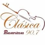 Logo da emissora Radio Panamericana Clásica 90.7 FM