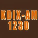 Logo da emissora Radio KDIX 1230 AM