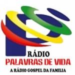 Logo da emissora Rádio Palavras De Vida FM