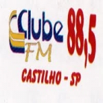 Logo da emissora Rádio Clube 88.5 FM