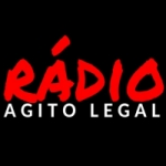 Logo da emissora Rádio Agito Legal