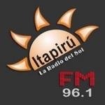 Logo da emissora Radio Itapirú 96.1 FM