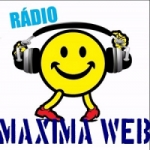 Logo da emissora Máxima Web Rádio