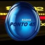 Logo da emissora Rádio Ponto 45