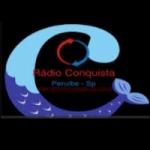 Logo da emissora Rádio Conquista Peruíbe