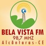 Logo da emissora Rádio Bela Vista 98.7 FM