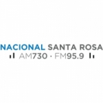 Logo da emissora Radio Nacional Santa Rosa 730 AM 95.9 FM