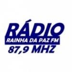 Logo da emissora Rádio Comunitária Rainha da Paz 87.9 FM