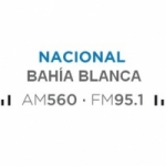 Logo da emissora Radio Nacional 560 AM 95.1 FM