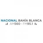 Logo da emissora Radio Nacional Bahía Blanca 560 AM 95.1 FM