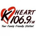 Logo da emissora Radio KHRT 106.9 FM