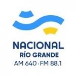 Logo da emissora Radio Nacional Río Grande 640 AM 88.1 FM