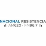 Logo da emissora Radio Nacional Resistencia 620 AM 96.7 FM