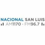 Logo da emissora Radio Nacional San Luis 1170 AM 96.7 FM