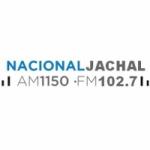 Logo da emissora Radio Nacional Jachal 1150 AM 102.7 FM