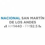 Logo da emissora Radio Nacional S M de Los Andes 1440 AM 92.5 FM