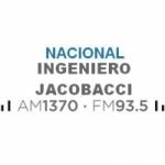 Logo da emissora Radio Nacional 1370 AM 93.5 FM