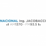 Logo da emissora Radio Nacional Ing Jacobacci 1370 AM 93.5 FM