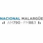 Logo da emissora Radio Nacional 790 AM 88.1 FM